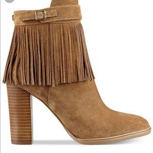 Ivanka Trump Preta Tan Ankle Boot Size 5